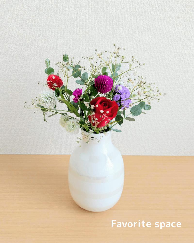 ブルーミーライフのレギュラープランの赤いバラの画像
