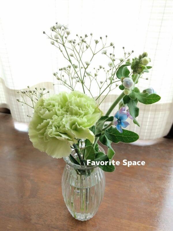 ブルーミーギフトの花の画像