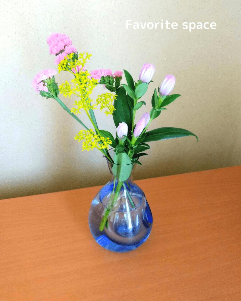 ブルーミーライフギフトで母に送った女郎花の画像