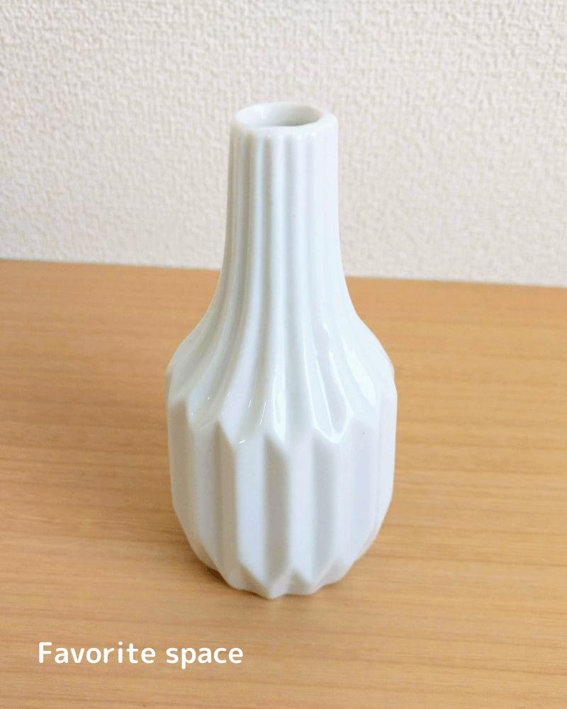 ダイソーの北欧風な花瓶の画像