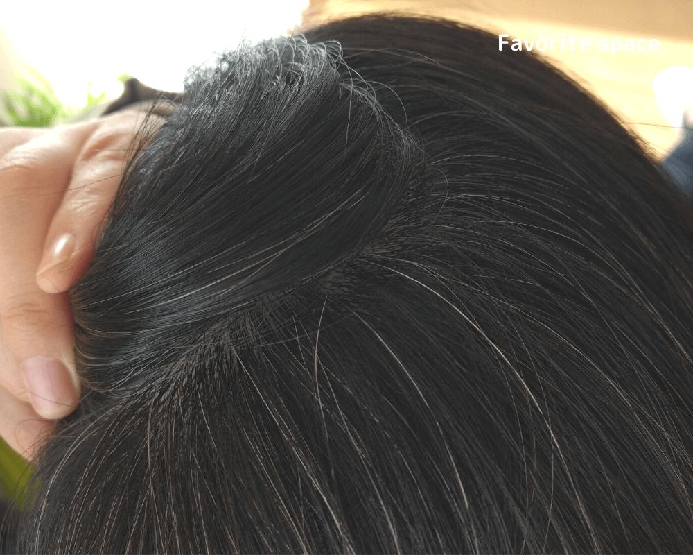 髪萌使用前の画像