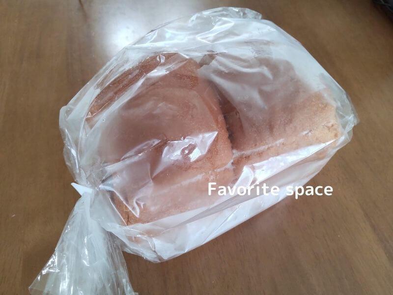 オーマイパンで購入したブランパンの画像